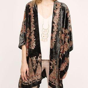Velvet Jardin Kimono (Shaw/Scarf/Wrap)